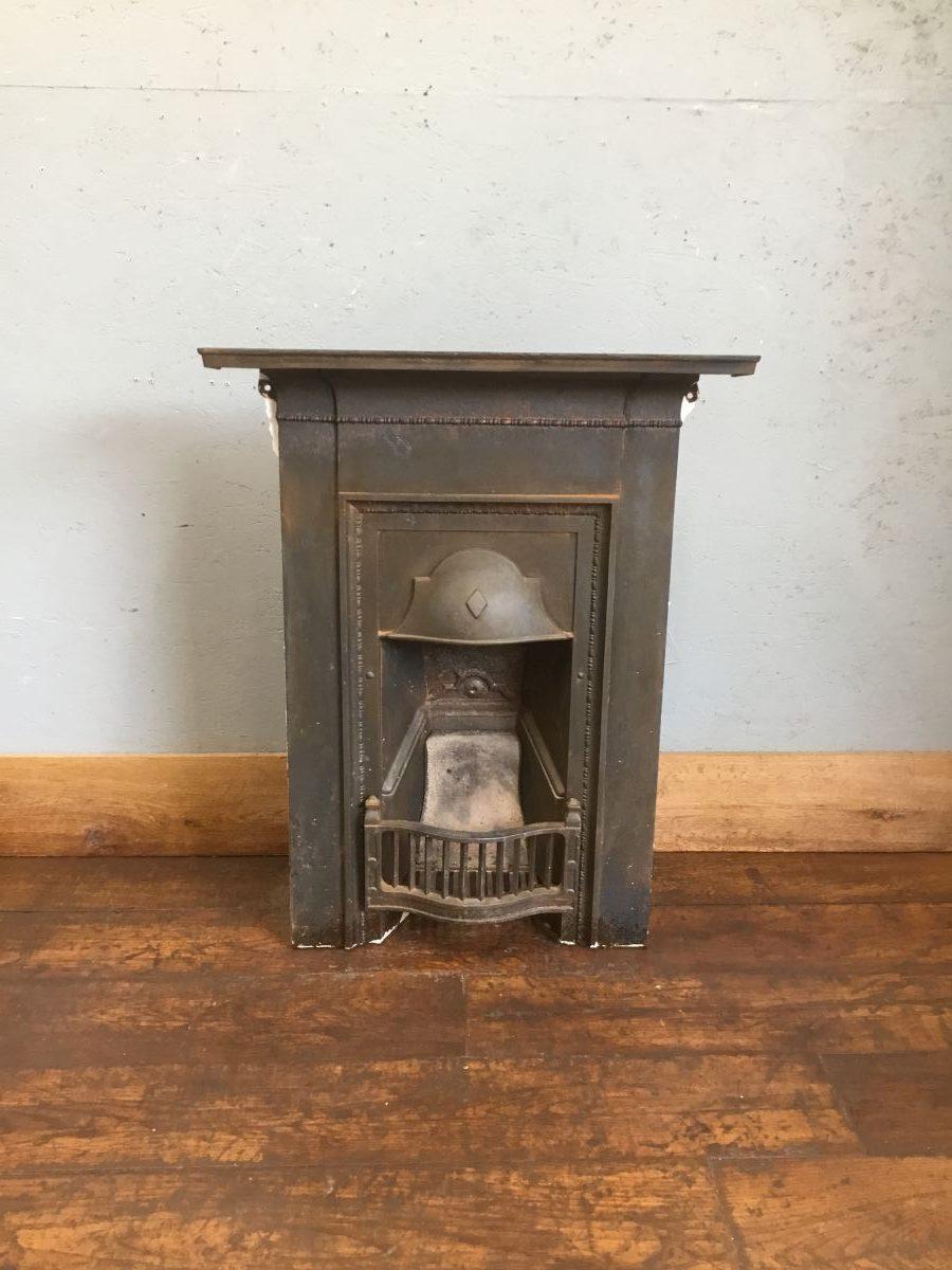 Metal Bedroom Fireplace
