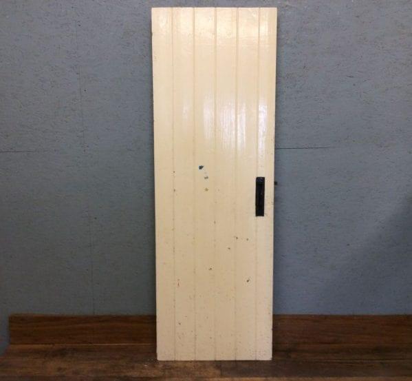 Pale Yellow Ledge & Brace Door