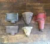 Cast Iron Rain Hopper Selection