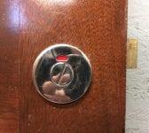 Oak Disabled Toilet Door