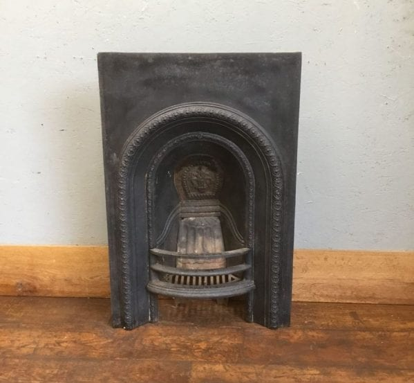 Black Cast Iron Fire Insert