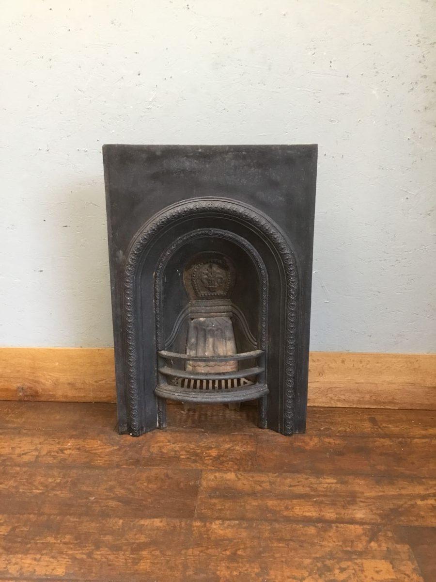 Black Cast Iron Fire Insert