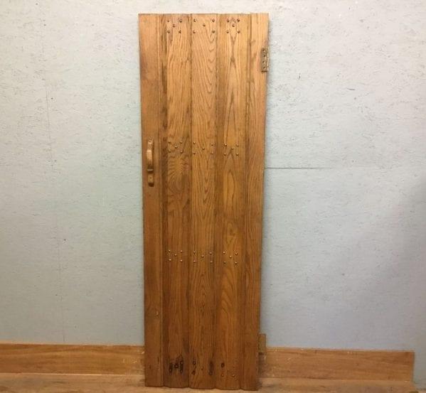 Narrow Reclaimed Oak Ledge & Brace Door