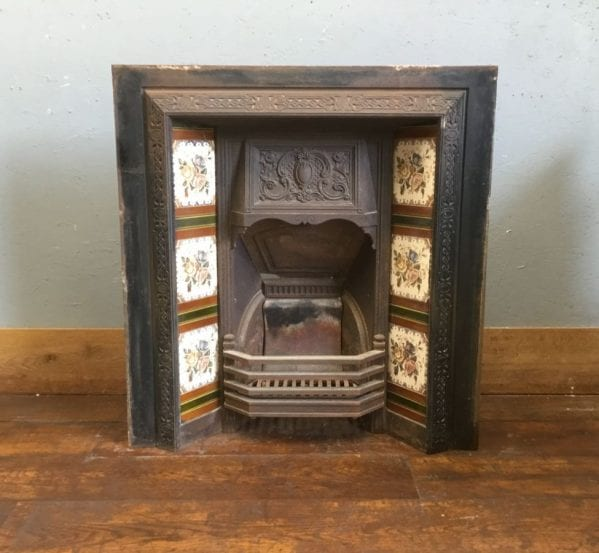 Fully Tiled Cast Iron Fire Insert
