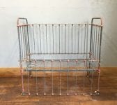 Wrought Iron Vintage Cot