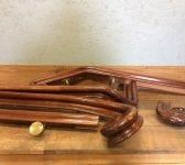 Posh Reclaimed Hardwood Bannister with Monkey Tails