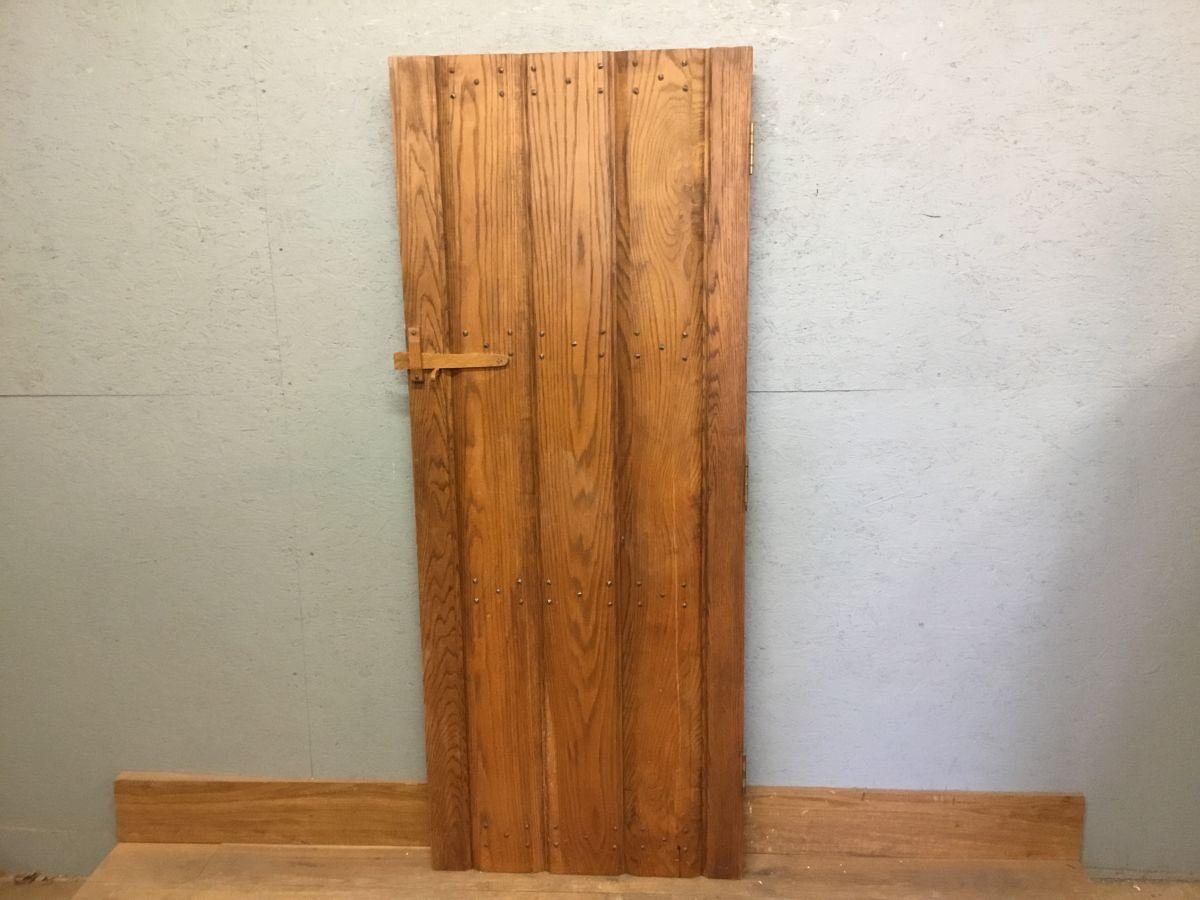 Short Reclaimed Studded Ledge & Brace Door