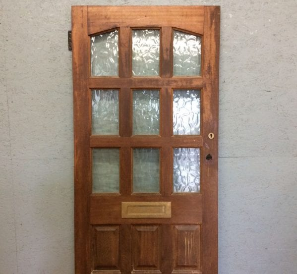Heavy Hardwood Front Door