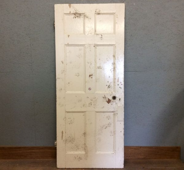 6 Panelled White Door