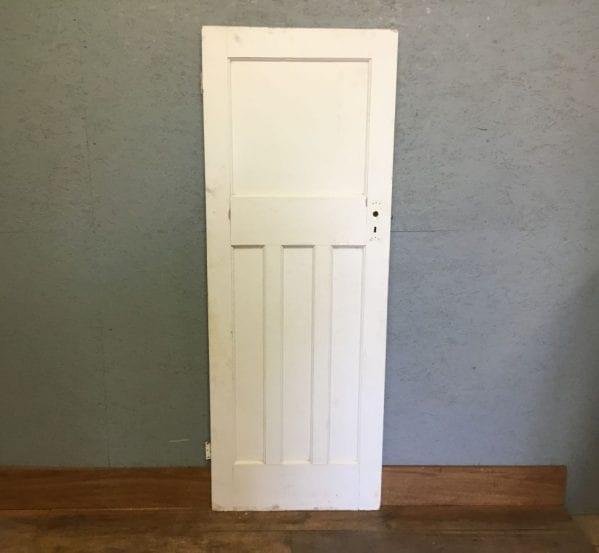 Reclaimed White Painted 1 Over 3 Door
