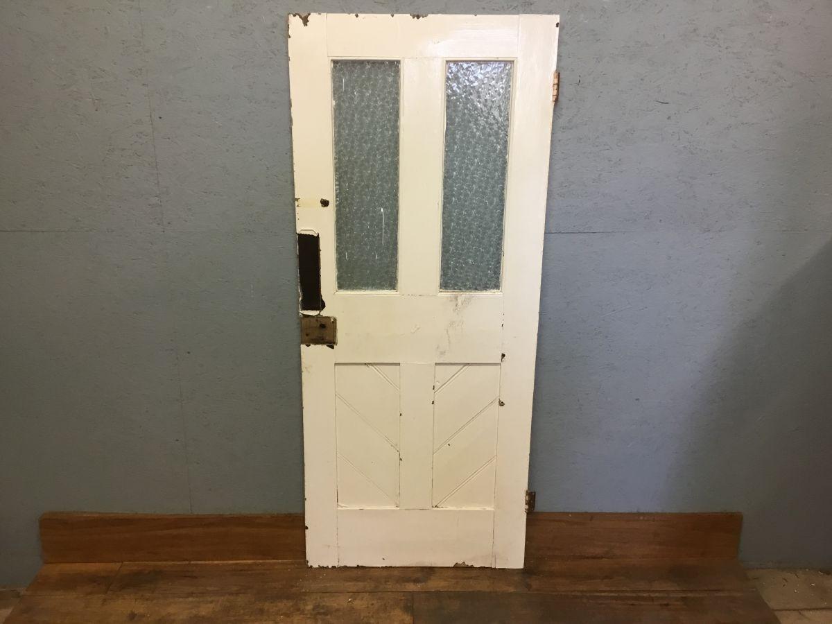 Reclaimed Half Glazed Internal Door