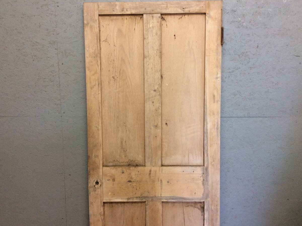 Nice Short Stripped 4 Panelled Door