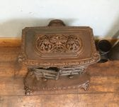 Highly Ornate Cast Iron Wood Burner