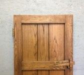 Reclaimed Small Ledge & Brace Oak Doors