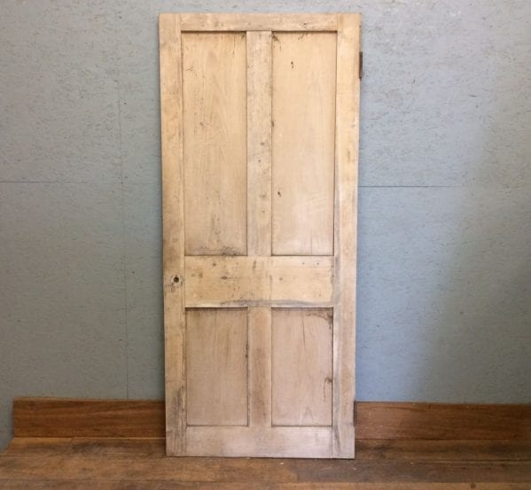 Nice Short Stripped 4 Panelled Door