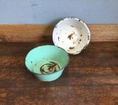 Rustic Enamel Bowls