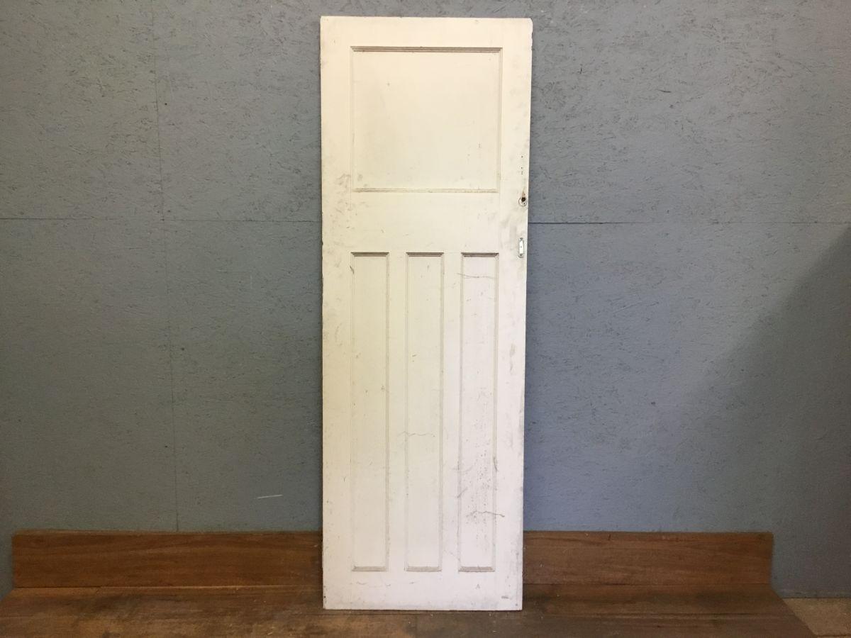 Small! White 1 Over 3 Door