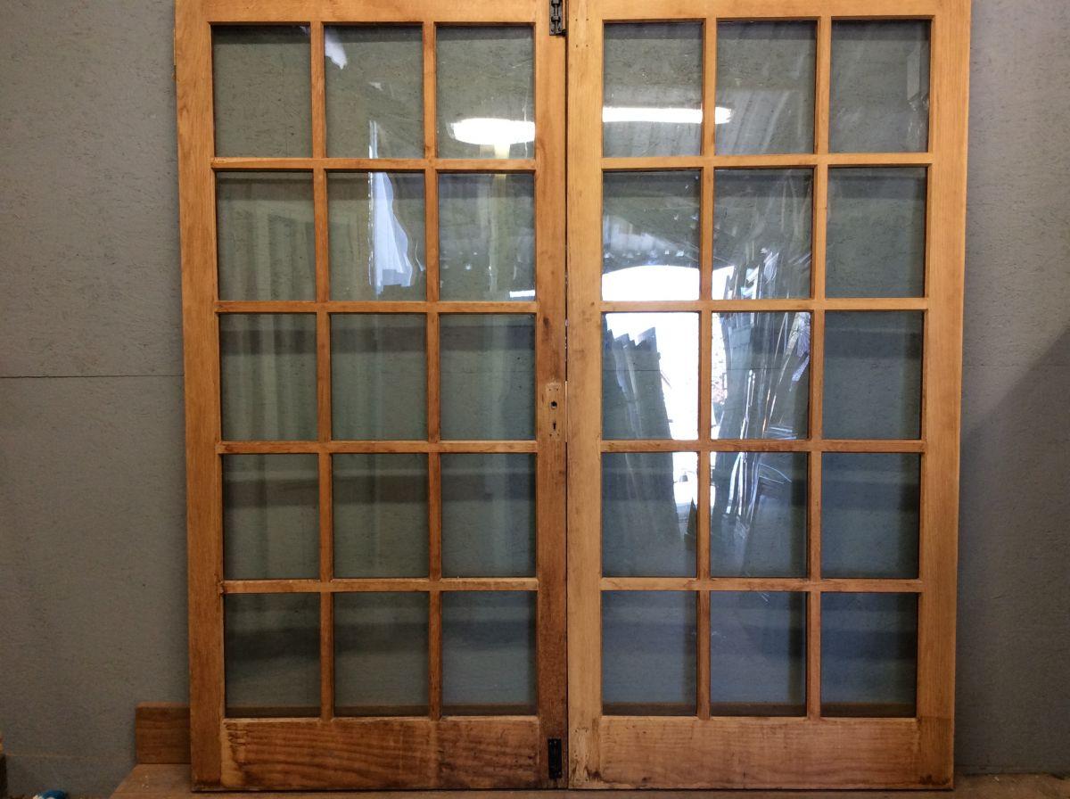 Gorgeous Oak Double Glazed Double Doors