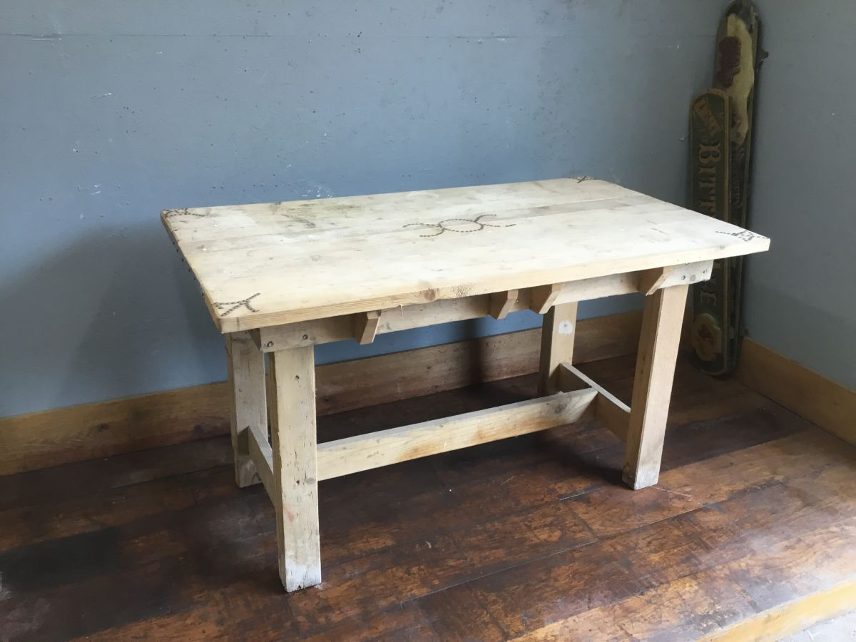 Reclaimed Workmans Table