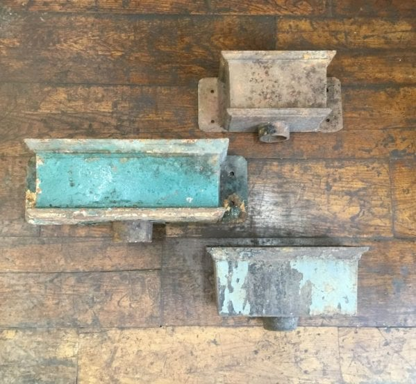Various Rectangular Cast Iron Rain Hoppers