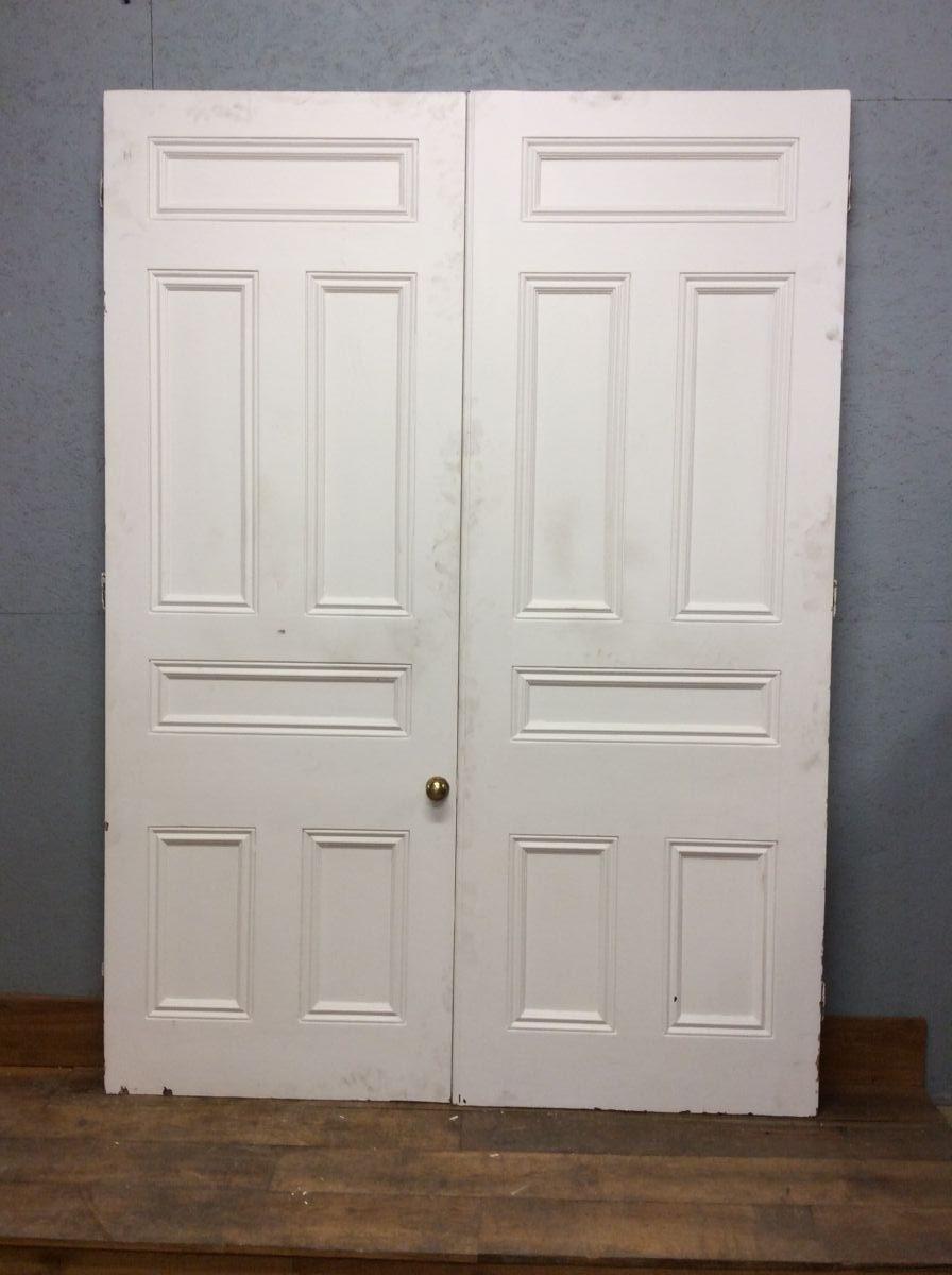 6 Panelled Grand White Doors