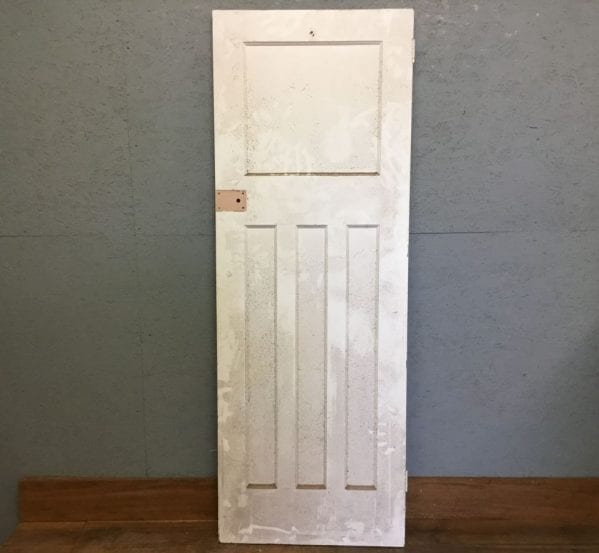 White 1 Over 3 Panel Door