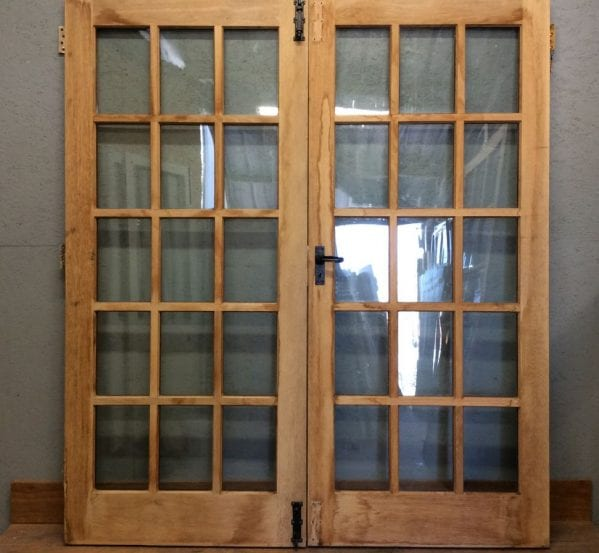 Gorgeous Oak Double Glazed French Doors