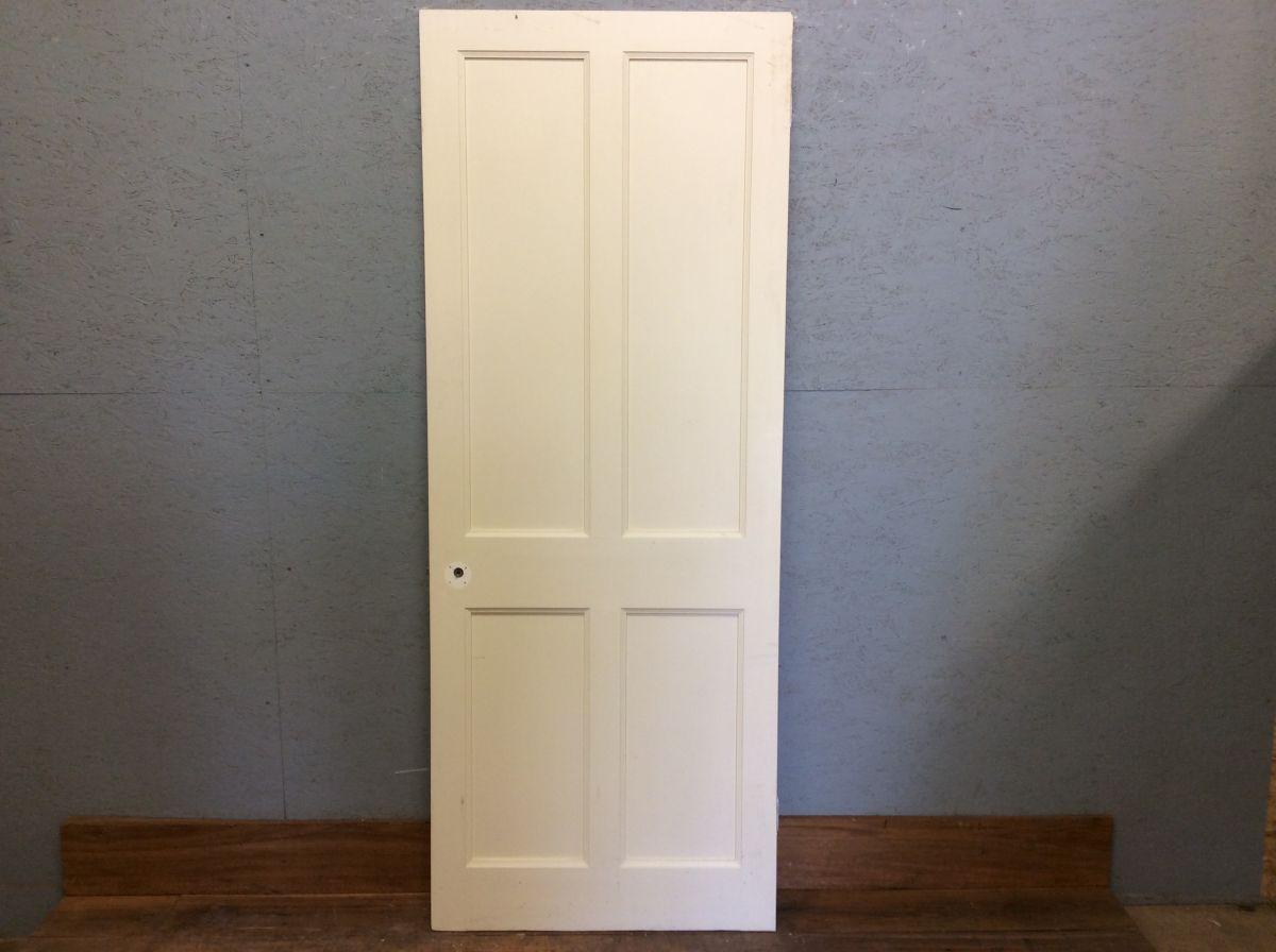 Bright White 4 Panel Door