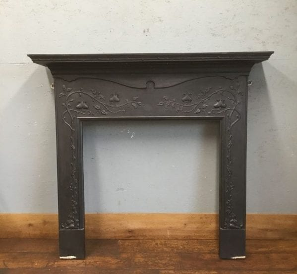 Large Art Nouveau Fire Surround