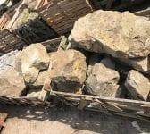 Reclaimed Sussex Sandstone Rockery