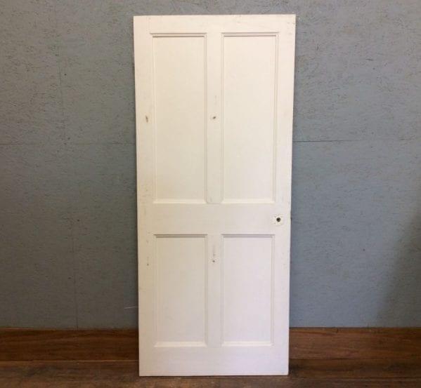 White Short 4 PanelDoor