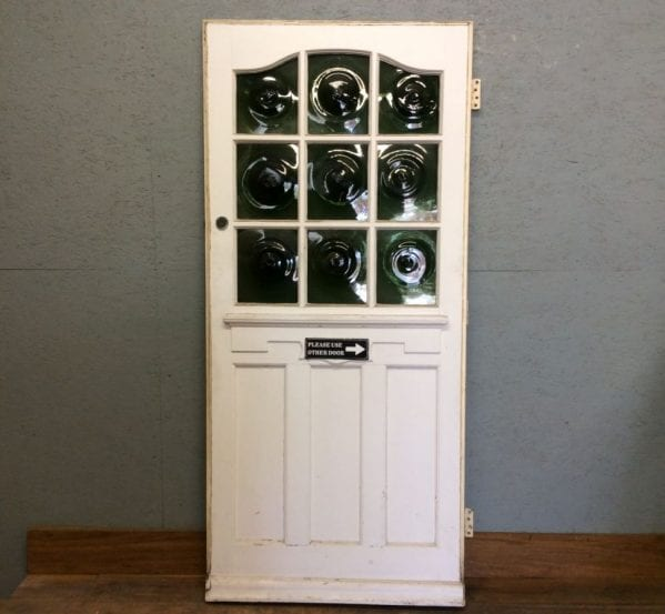 Fancy Front Green Swirl Front Door (Perfect Pair)