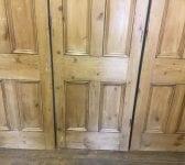 Nice Natural Finish Pine Bi-folding Doors