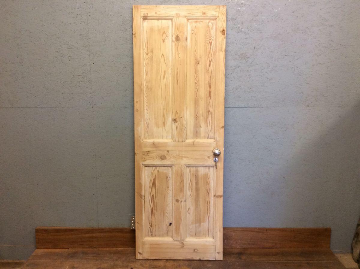 Top Notch Stripped 4 Panel Door