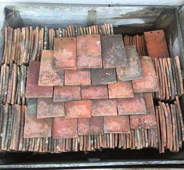 Reclaimed Rustic Handmade Peg Tile