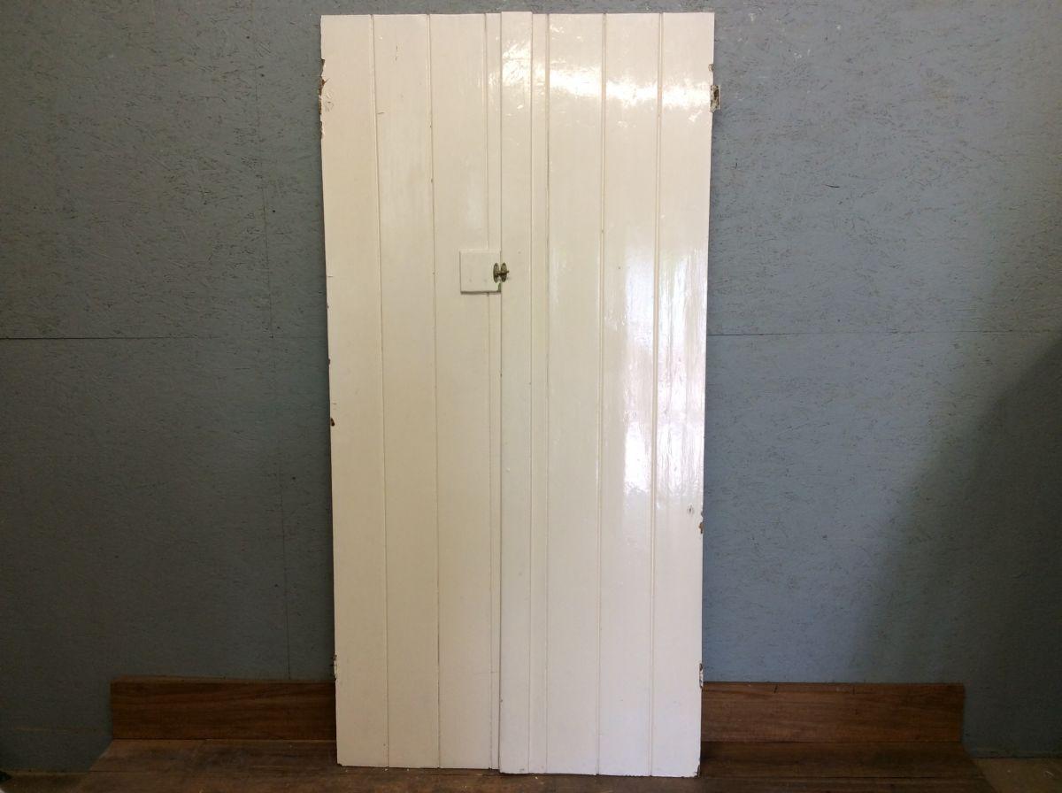 White L&B Double Doors
