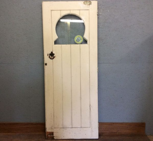 Half Glazed Horse Shoe Panel Door