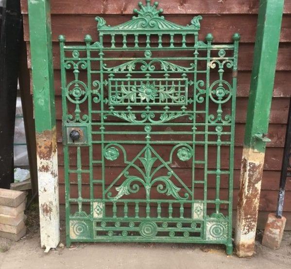 Stunning Ornate Cast Iron Gate