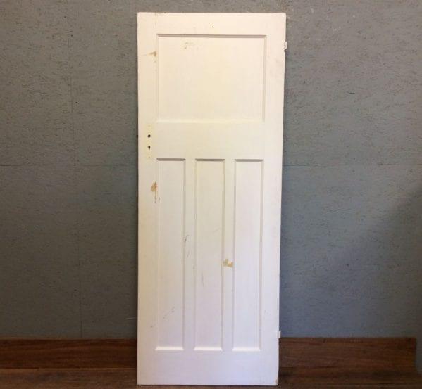 White Pure 1 Over 3 Door