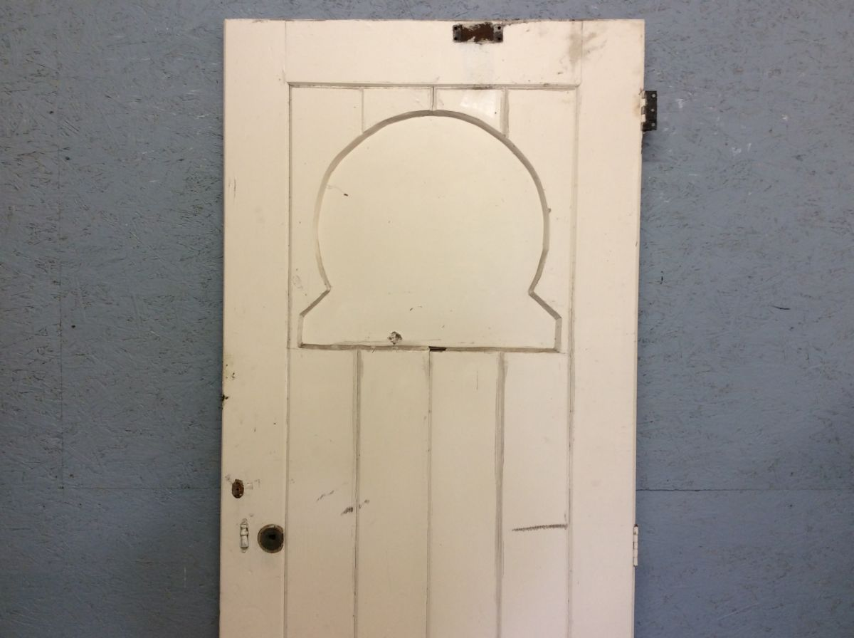 Horse Shoe Panelled Door