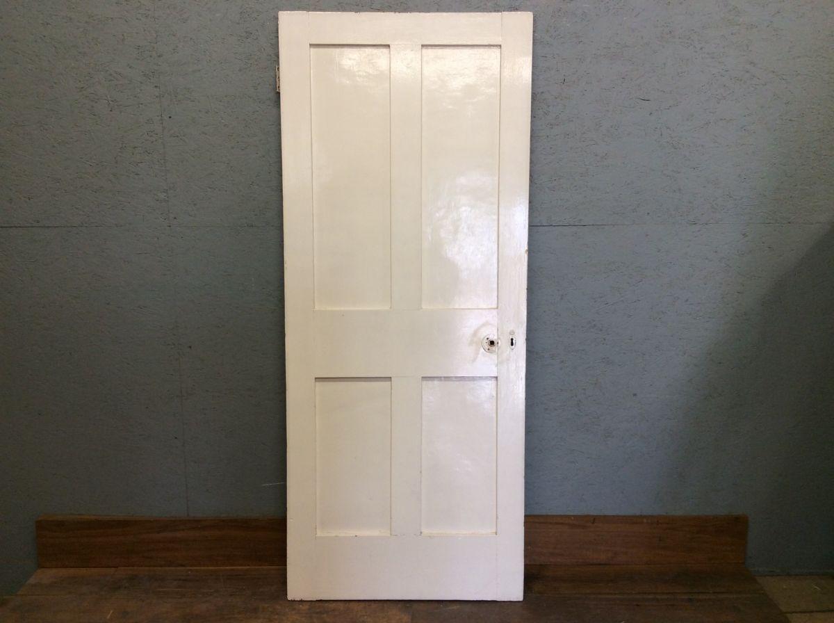 Half Painted 4 Panelled Door