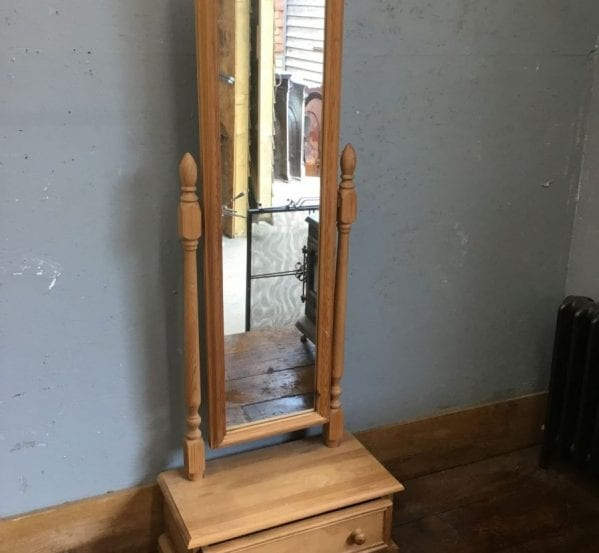 Reclaimed Body Length Pivot Mirror