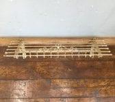 Large Iron Shelf & Hooks