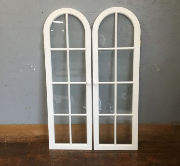 Fully Glazed Arched Cupboard Doors