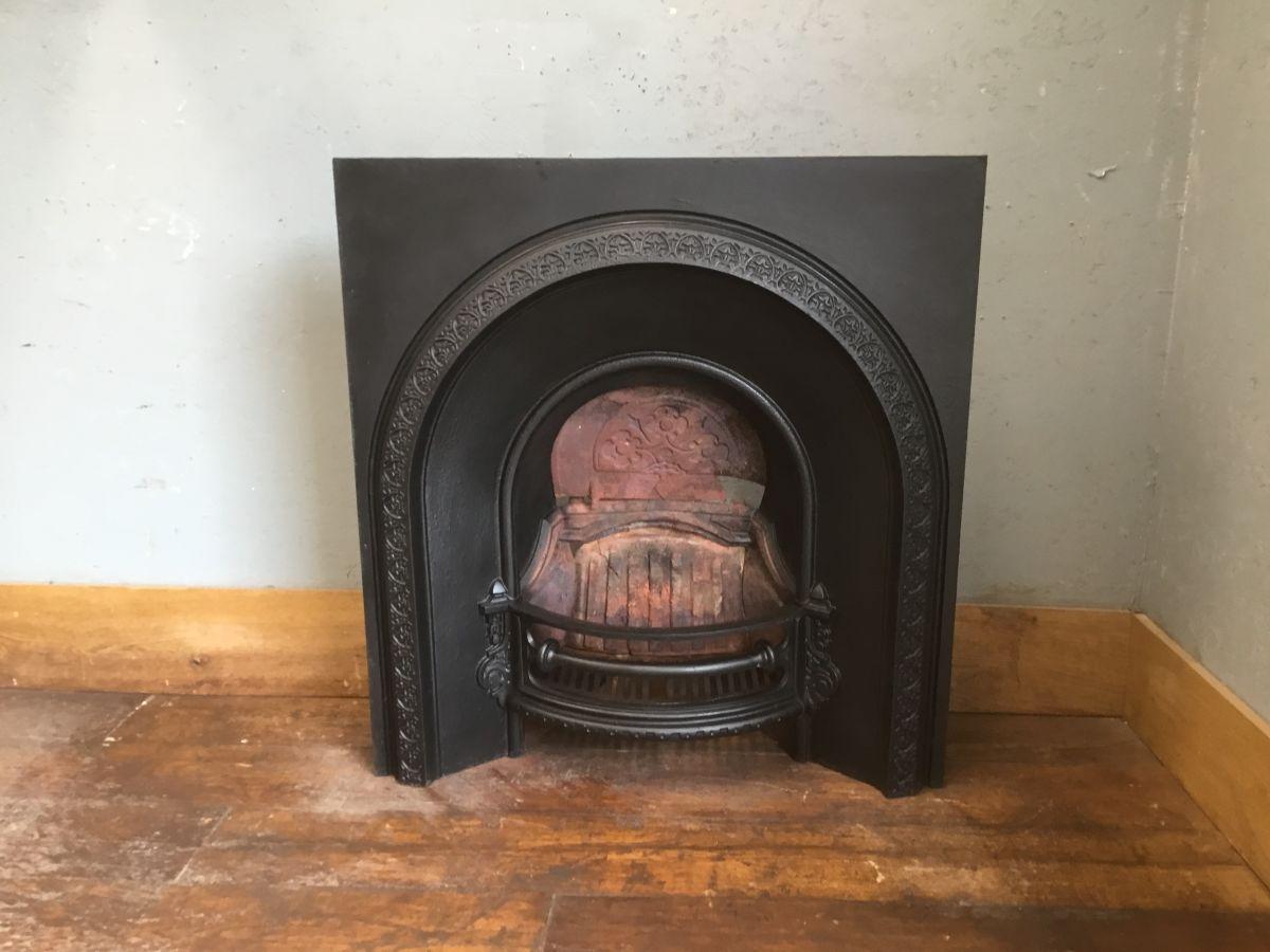 Large Black Fire Insert