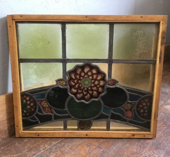 Victorian Lead Lined Stained Glass