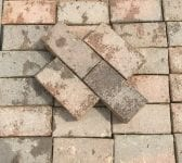 Wire Cut Dark Block Paving Bricks