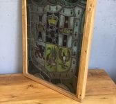 Early Victorian Leaded Stained Glass Window