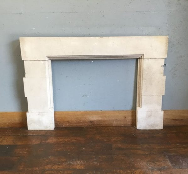Square Edged Stone Fire Surround
