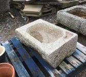 Reclaimed Stone Garden Sink